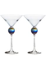 ROMEO GLASS SPIDER PLANET MARTINI GLASS