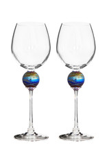 ROMEO GLASS SPIDER PLANET WINE GLASS