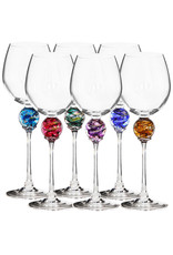ROMEO GLASS RUBY PLANET WINE GLASS
