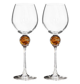 ROMEO GLASS GOLD PLANET WINE GLASS