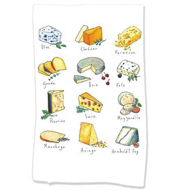 PAPER SHARKS CHEESE DISH TOWEL