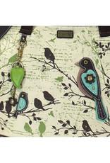 CHALA SAFARI BIRDS CANVAS TOTE