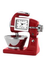 SANIS RED MIXER MINIATURE CLOCK