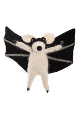 GALLERIE II BAT RAT ORNAMENT