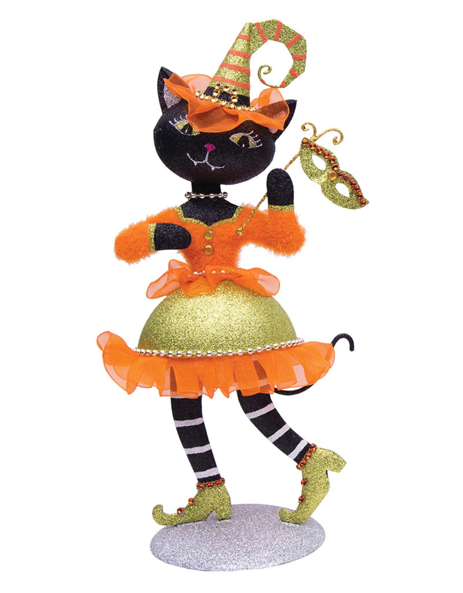 GALLERIE II HALLOWEEN GLAM CAT (GREEN HAT)