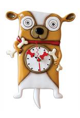ALLEN DESIGNS ROOFUS DOG CLOCK