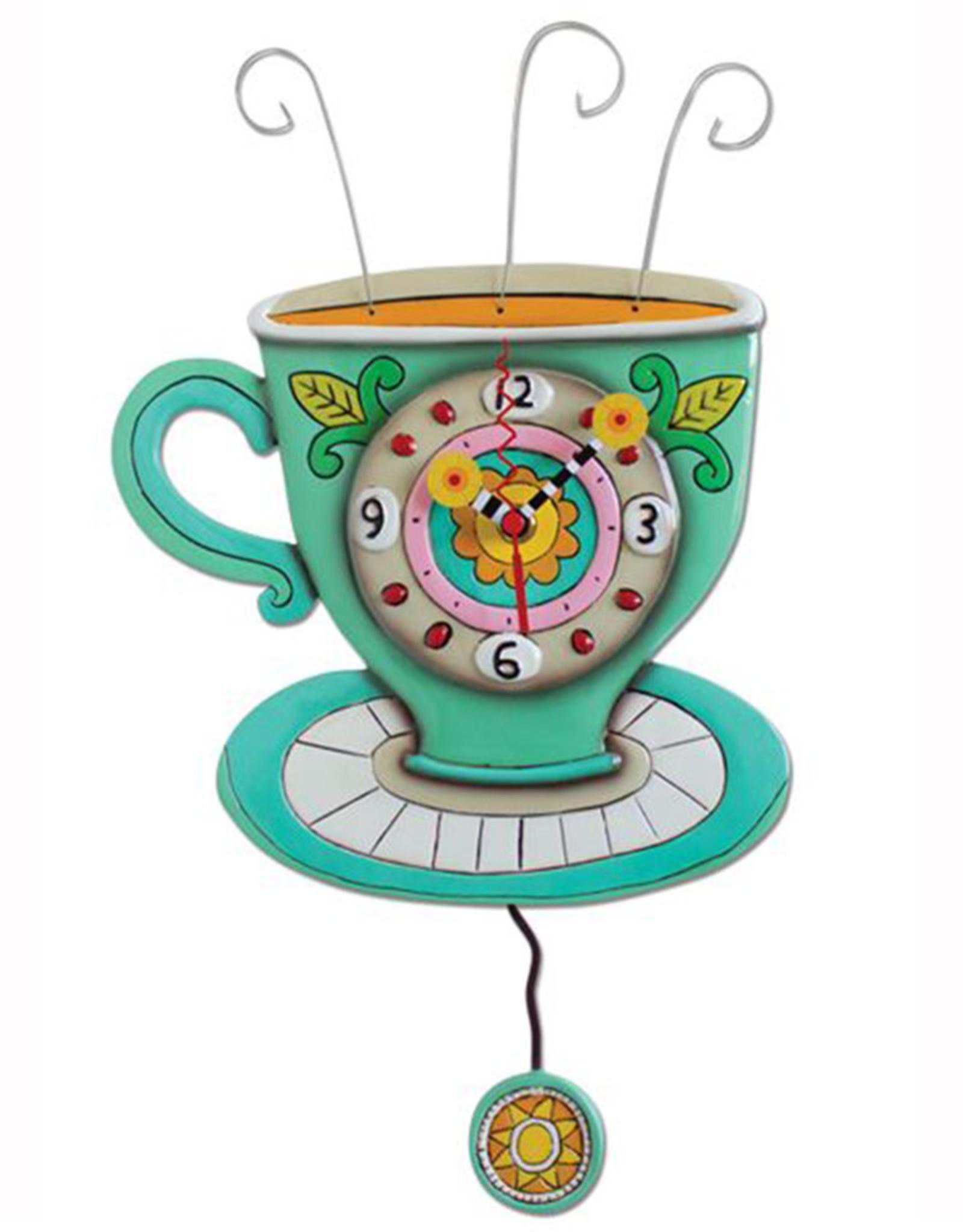 ALLEN DESIGNS SUNNY CUP CLOCK