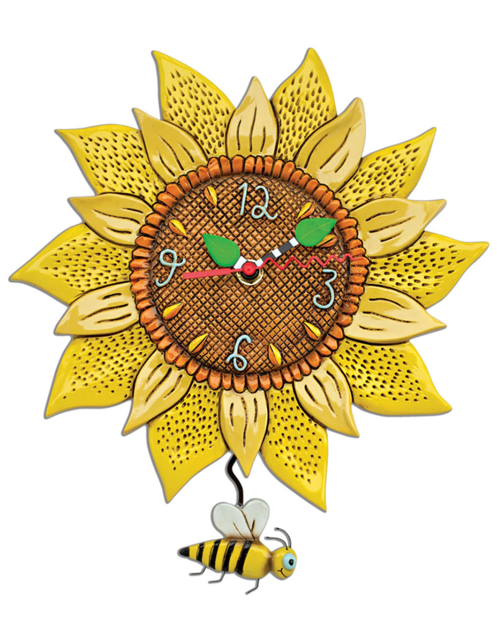 ALLEN DESIGNS BEE SUNNY CLOCK