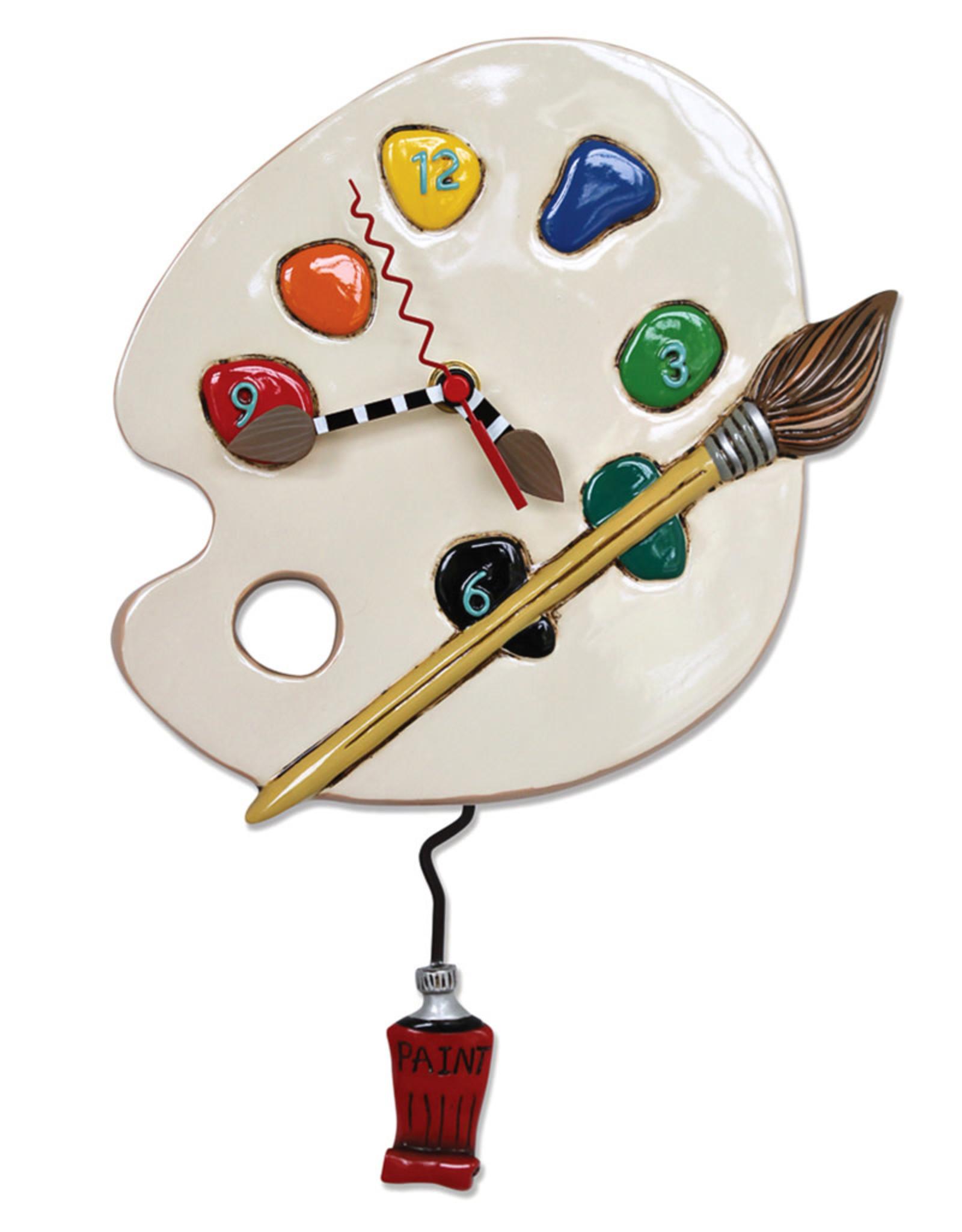 ALLEN DESIGNS ART TIME CLOCK