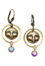 ANNE KOPLIK DESIGNS CELESTIAL SUN EARRINGS