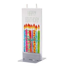 FLATYZ HAPPY BIRTHDAY CANDLES CANDLE