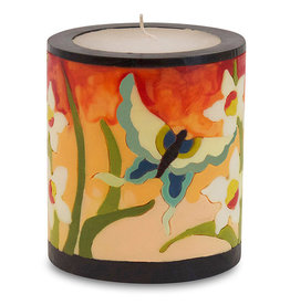MOON ALLEY MEDIUM BUTTERFLY & ORCHID CANDLE