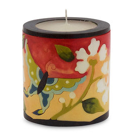 MOON ALLEY SMALL BUTTERFLY & ORCHID CANDLE