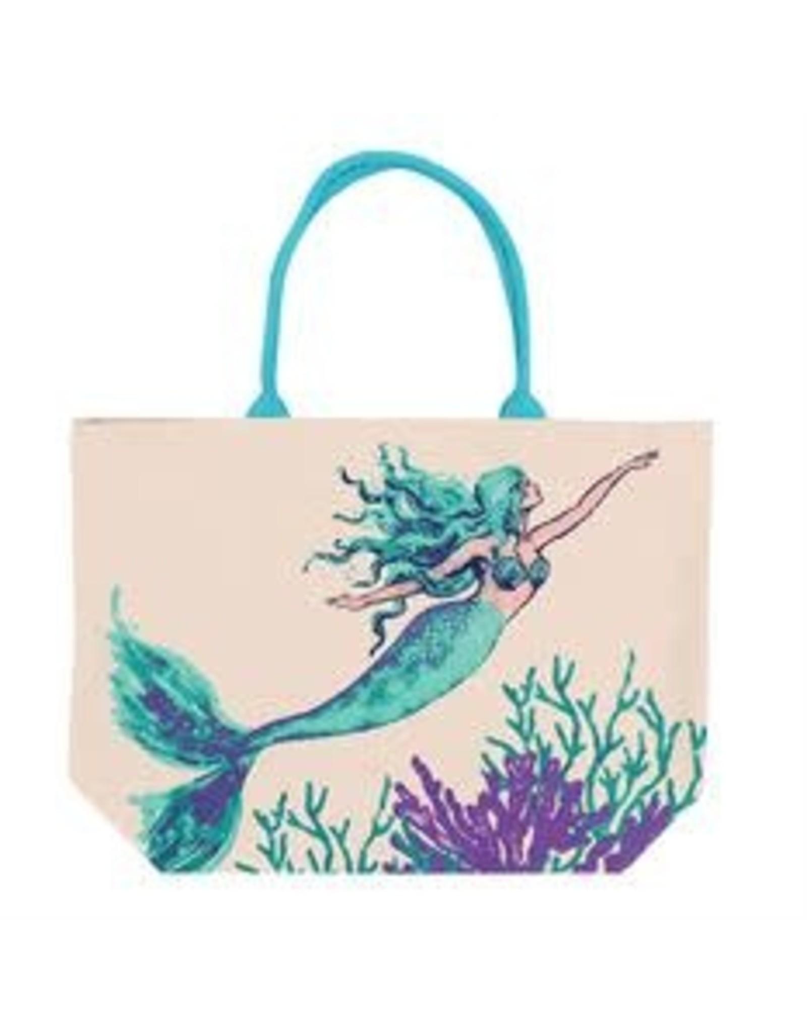 DEI Tote- Mermaid Print