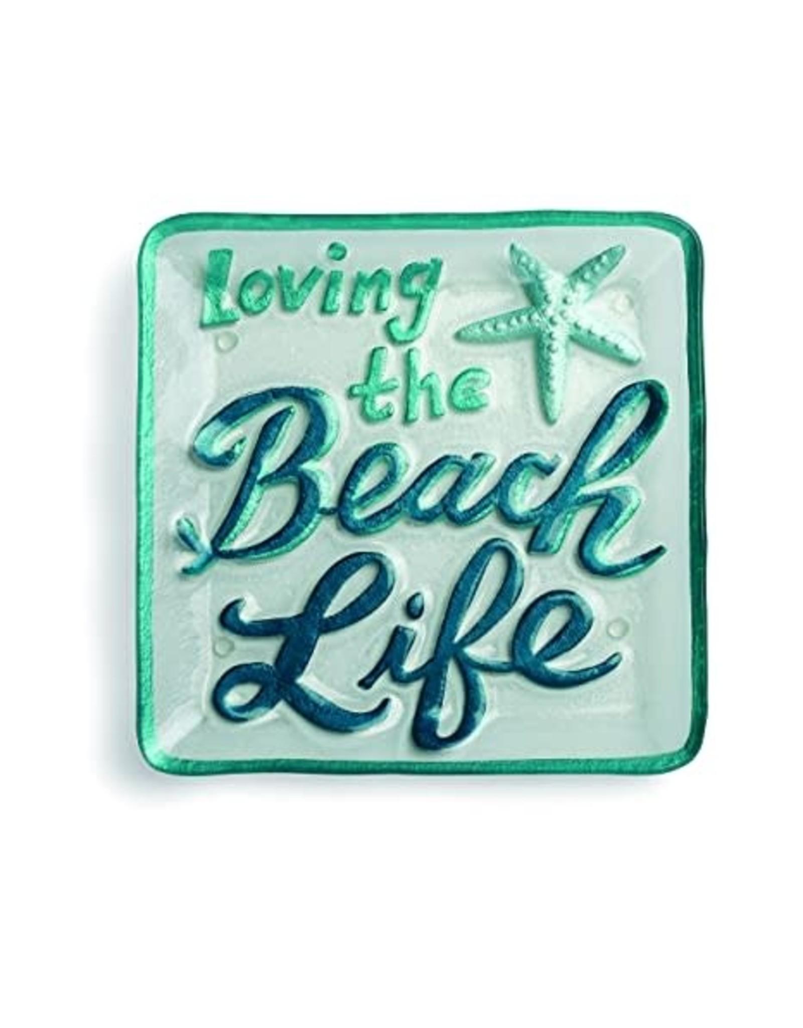 Demdaco Beach Life Sq. Plate