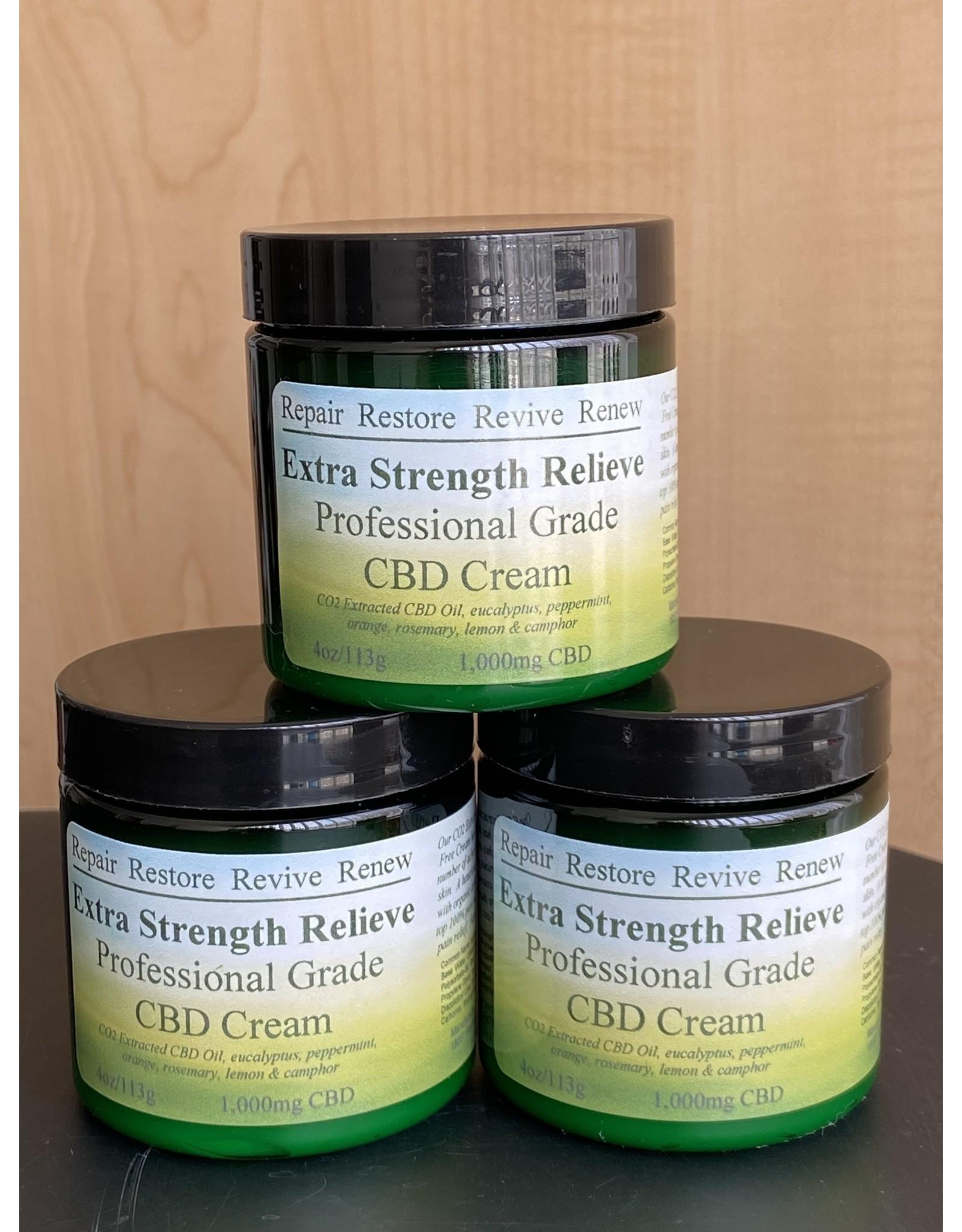 CBD- Extra Strength Relieve Cream 1000mg