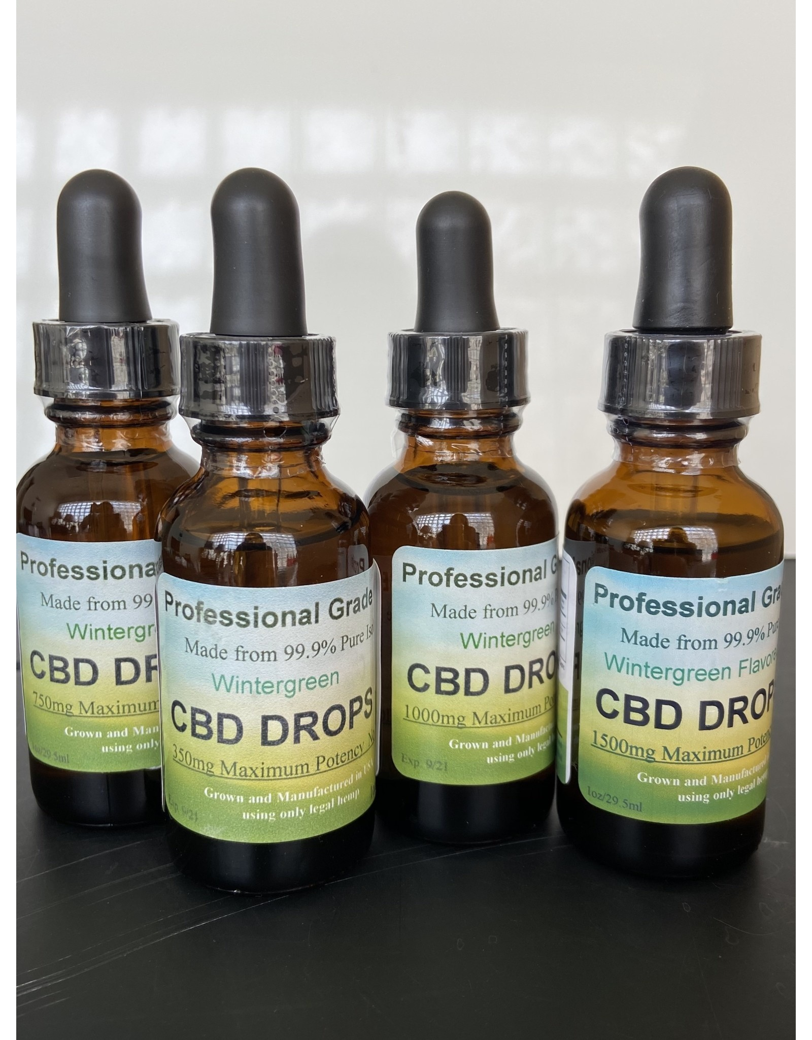 CBD-Winter Green Drops 1500mg