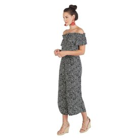 Mud Pie Jasmine Palm Jumpsuit