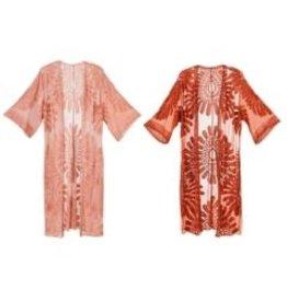 b. Boutique Floral Lace Kimono