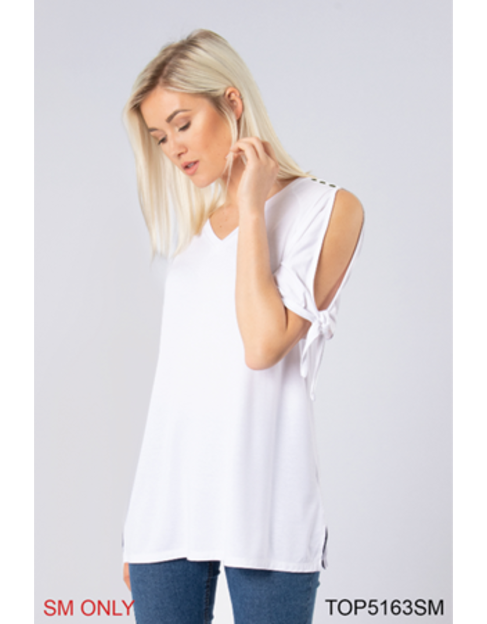 Simply Noelle Bandana Babe Sleeve Top