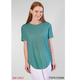 Simply Noelle Paradise Detail Button Top