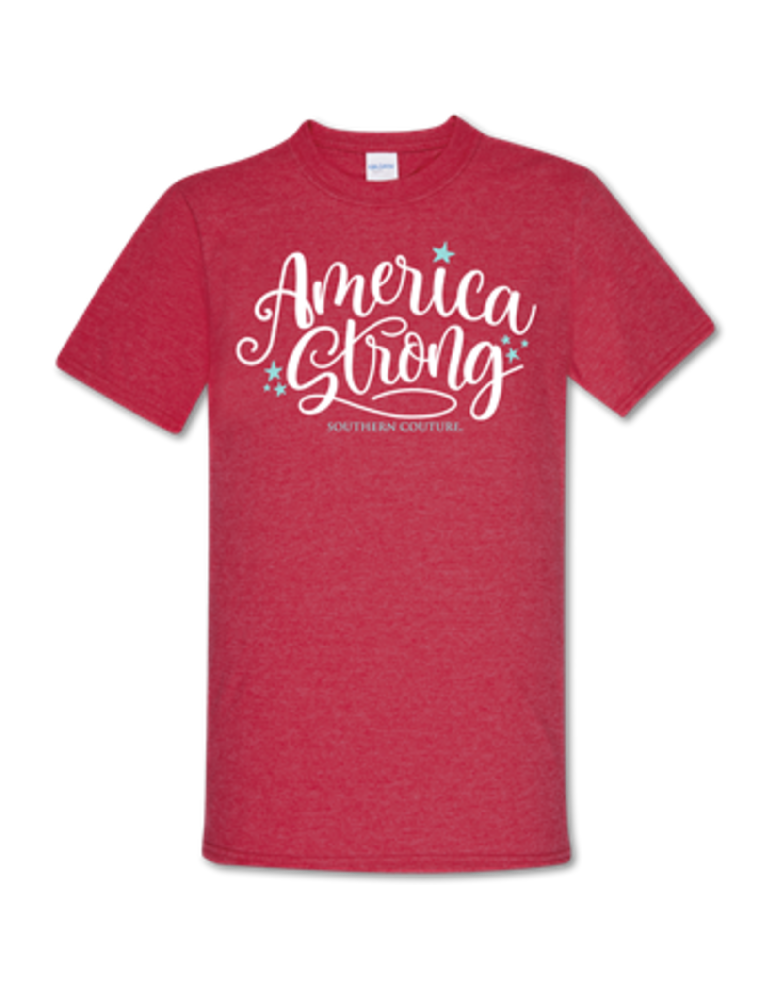 Couture Tee Company American Strong Red Tee