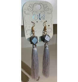 Ole Diamond Dangle Fringe Earrings