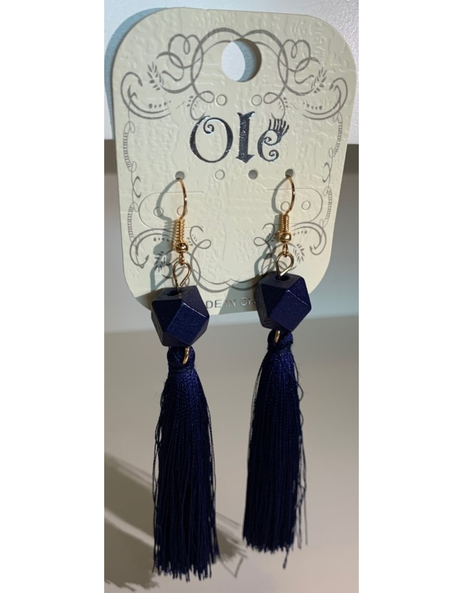 Ole E/R- Diamond Dangle Fringe