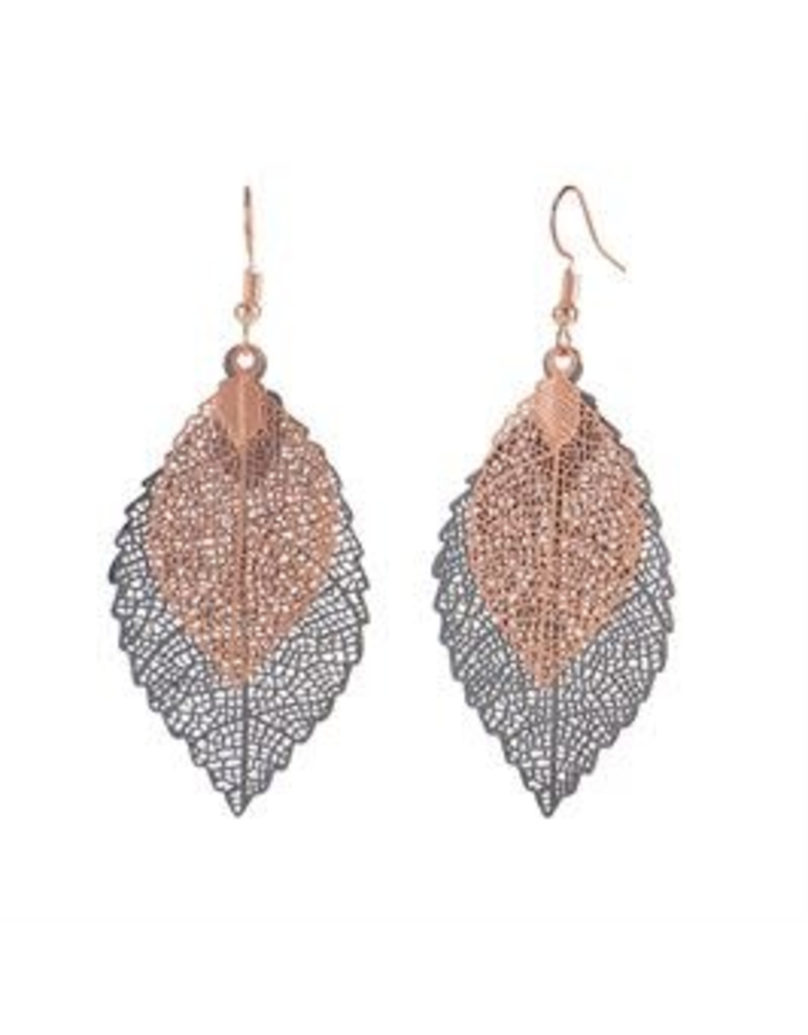 Whispers E/R Whisper Painted Filigree Feather Bronze/Blk