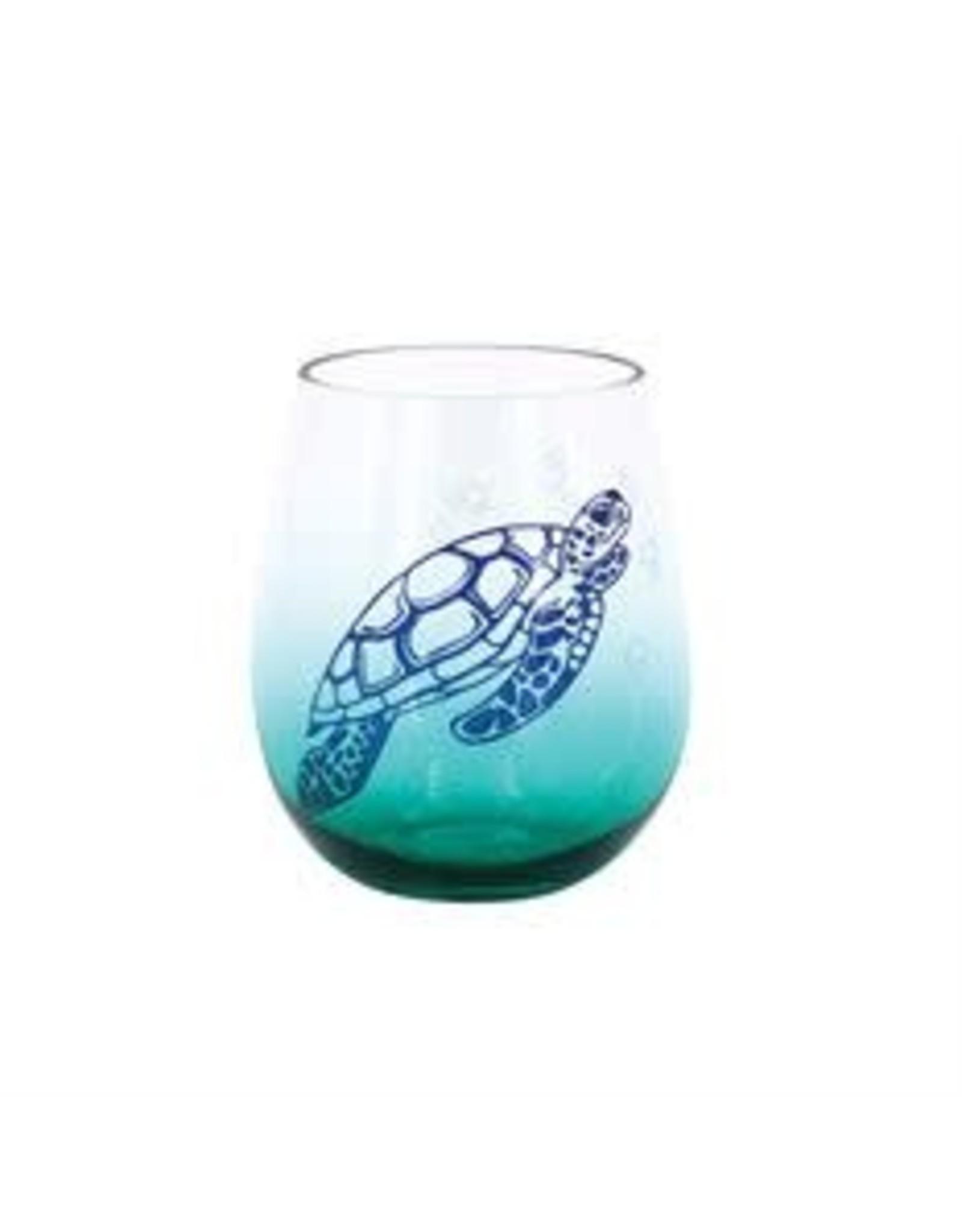 Wine-Sea Turtle Stemless 12873