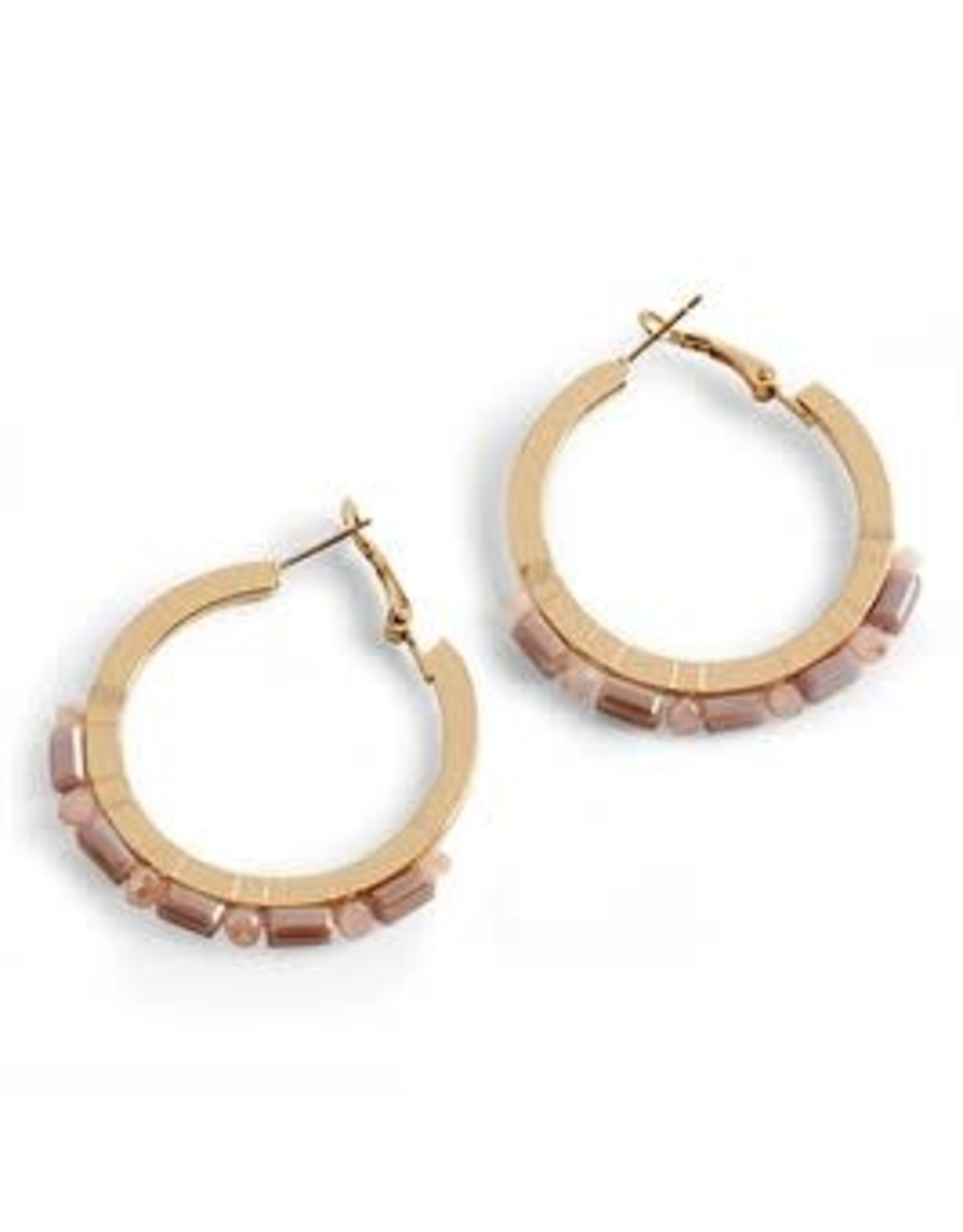 Coco & Carmen E/R- Lasalle Stone Hoop