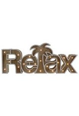 """Barry Owen Co Sign- LED Wood """"Relax"""""""