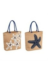 Evergreen Nautical Starfish Bag