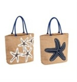 Evergreen Nautical Starfish Bag