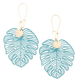 Jane Marie E/R- Cut Out Palm Leaf