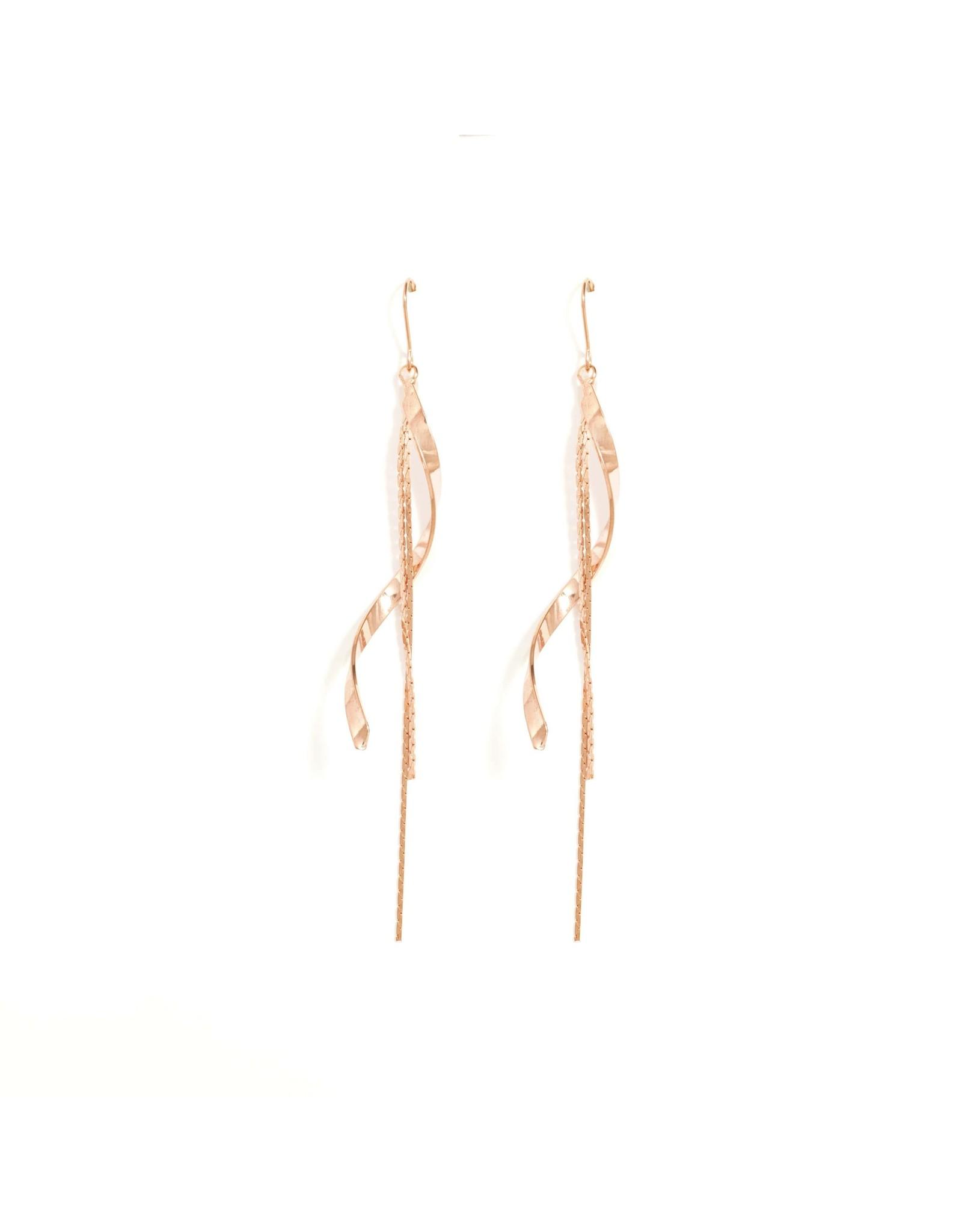 Splendid Iris E/R- Long Swirl Double Chain