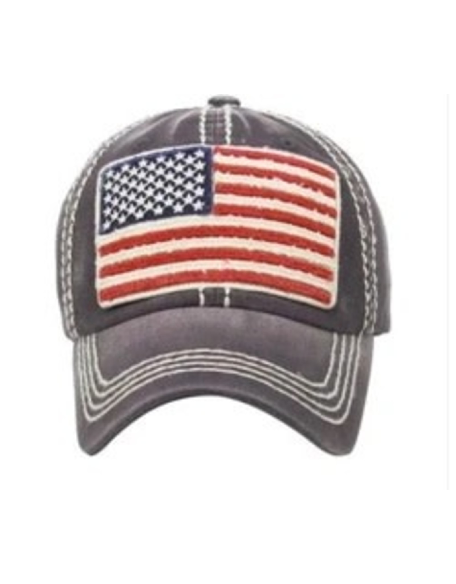 The Chic Bay Chic Hat- American Flag
