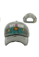 The Chic Bay Chic Hat- Wife Mom Boss