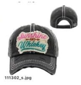 The Chic Bay Chic Hat- Sunshine Whiskey