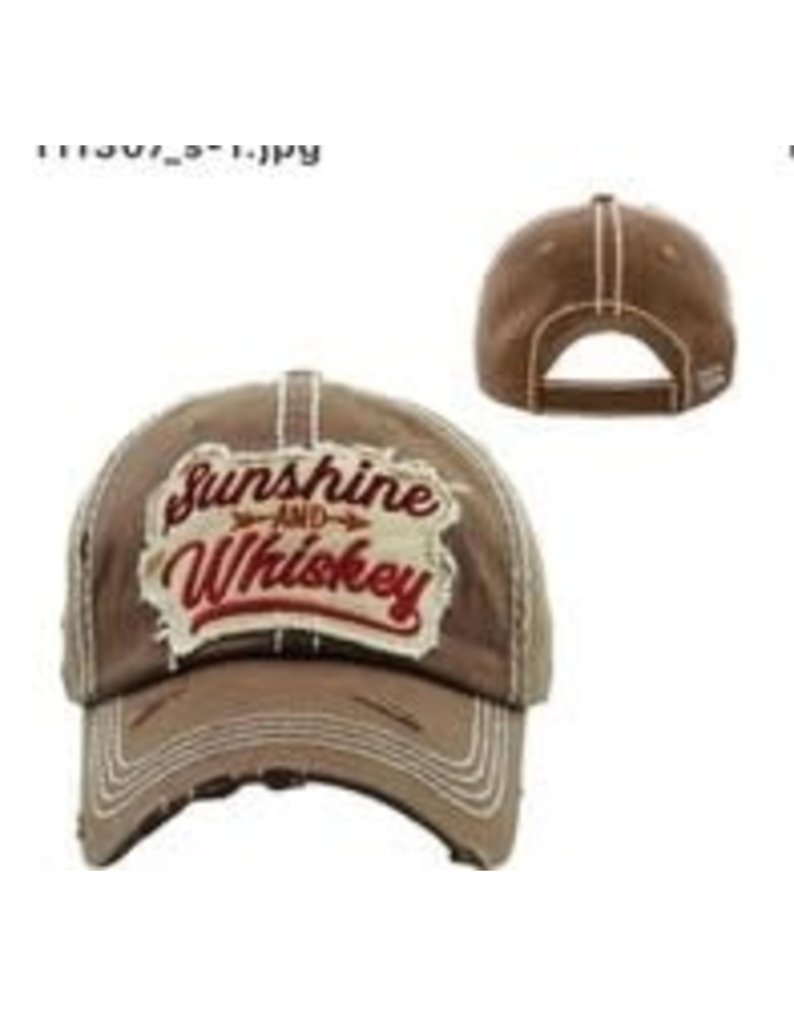 The Chic Bay Chic Hat- Sunshine Whiskey