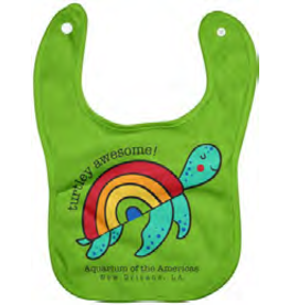 Turtley Awesome Bib