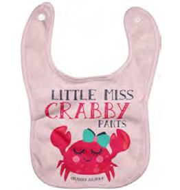 Miss Crabby Pants Bib
