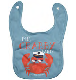 Mr.Crabby Pants Bib