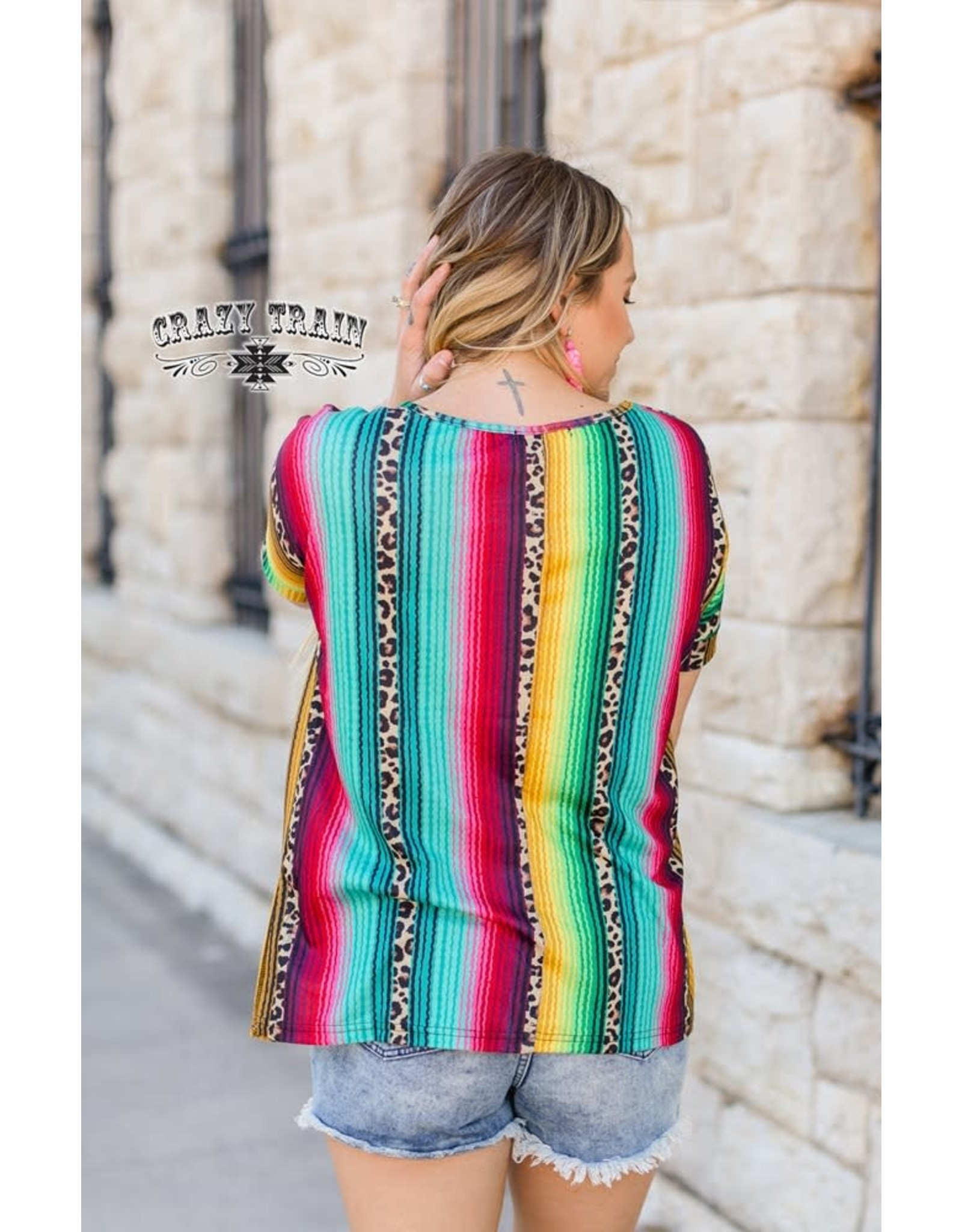 Crazy Train Tijuana Leopard Serape