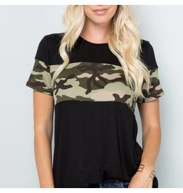 Celeste Clothing Celeste Black Camo