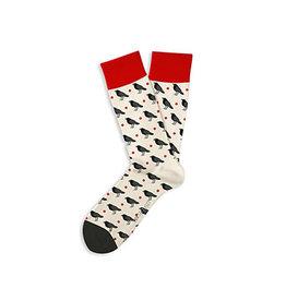 Two Left Feet Socks- Haw Blackcrow