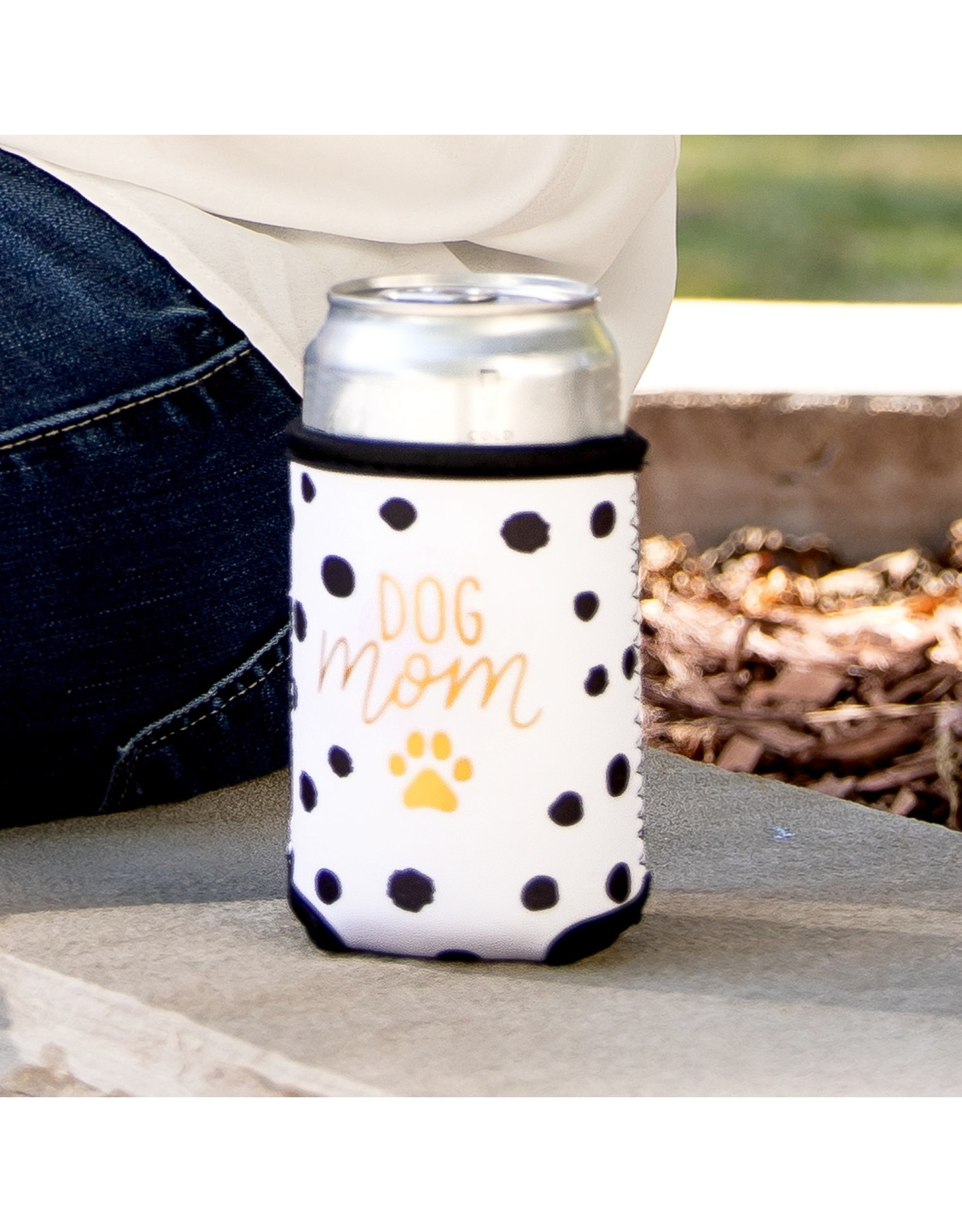 Mary Square Koozie- Dog Mom