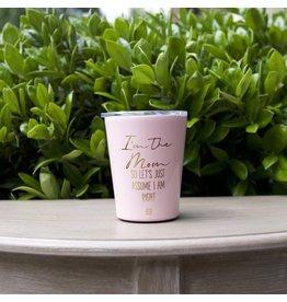 Mary Square Coffee Tumbler- I'm The Mom