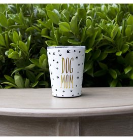 Mary Square Coffee Tumbler- Stainless Dog Mom