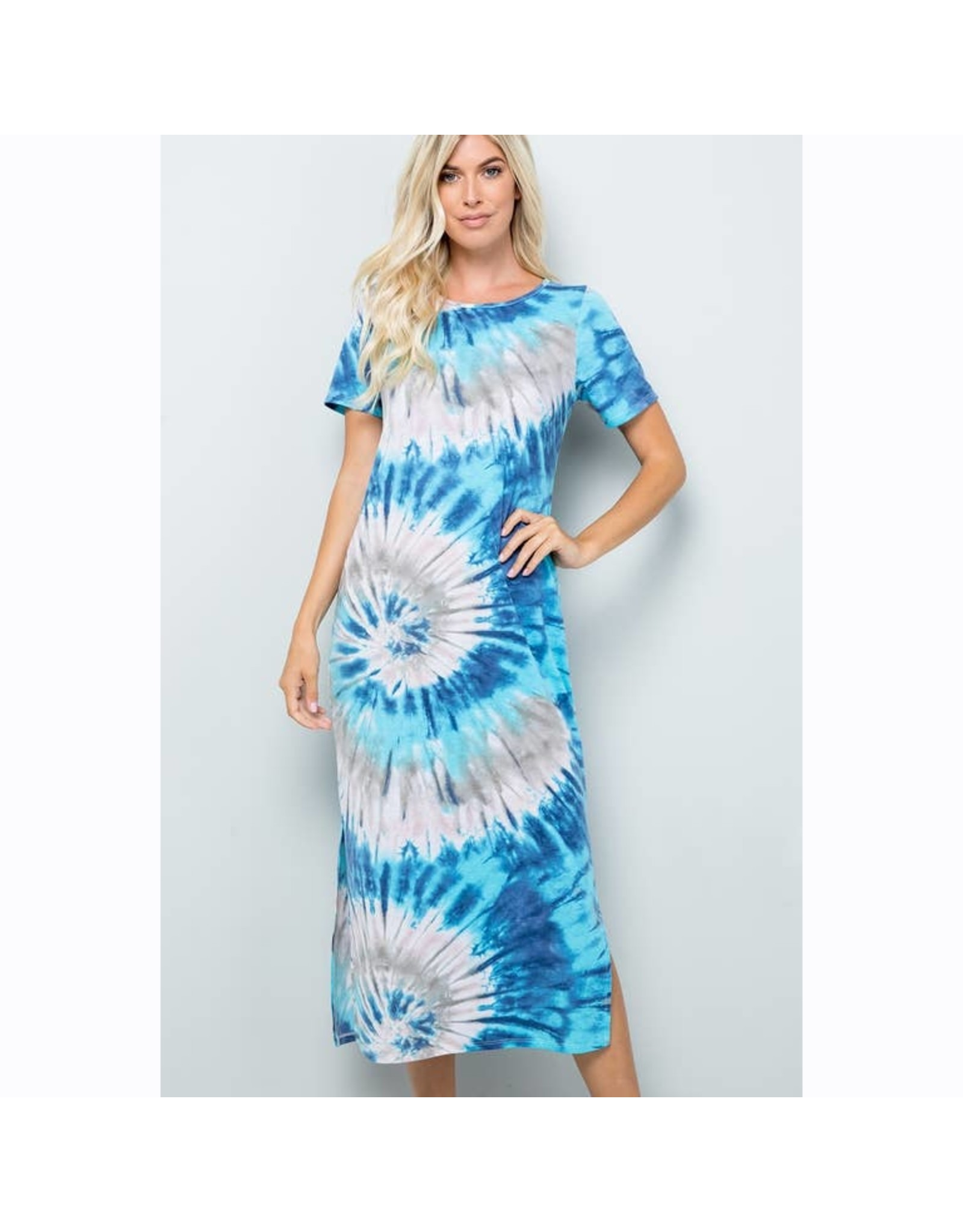 Sweet Lovely by Jen Tie Dye Dress